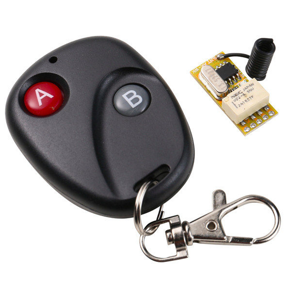 DC 3.7v-12v Wide voltage single channel micro wireless remote control switch