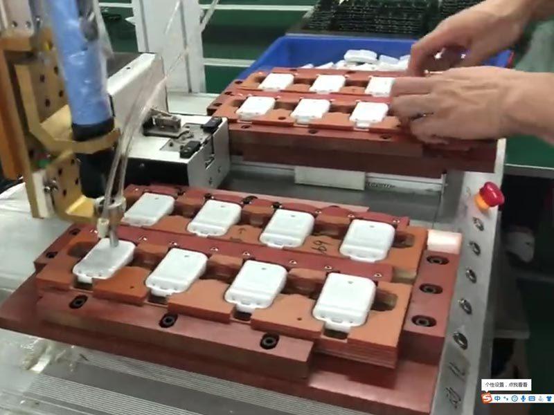 Remote control batch installation