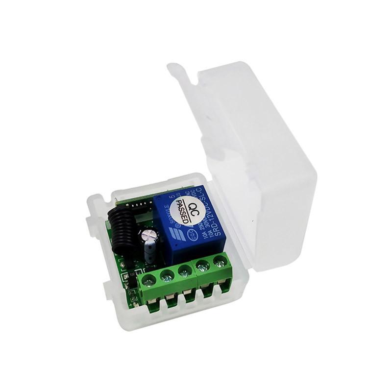 New 12V Mini Suitcase Wireless Remote Control Switch Kit