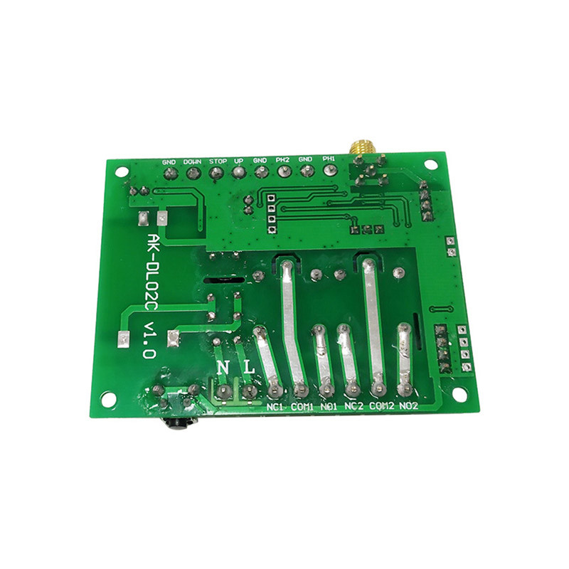 New customized dual-motor wide voltage 85-250v learning output circuit signal remote control on off switch