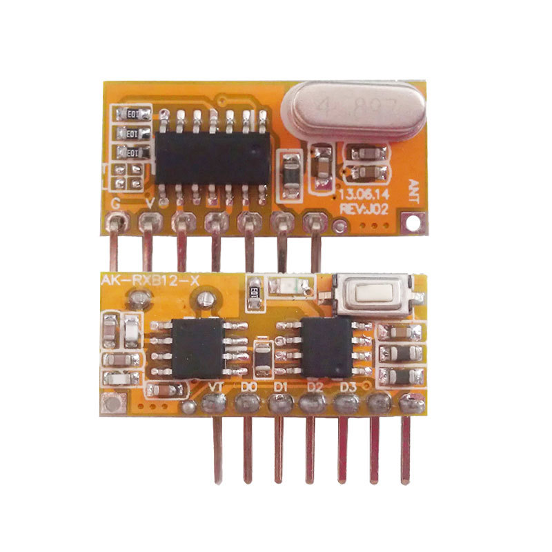 New Learning Superheterodyne Receiving Module with Decoding transmitter module