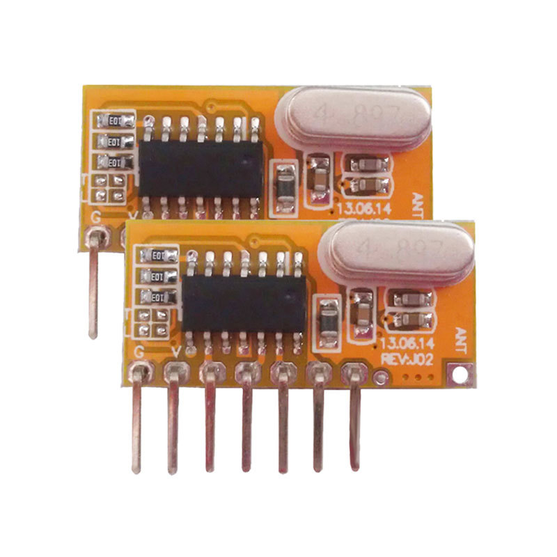 New Learning Superheterodyne Receiving Module with Decoding transmitter module