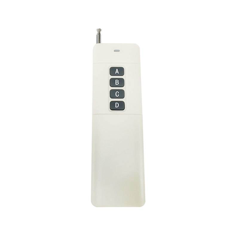Enhanced high-power long-distance 3000-meter copy code 4-button wireless remote control
