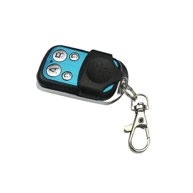 Push cover metal 4 button alarm wireless switch remote control AK-SF04B