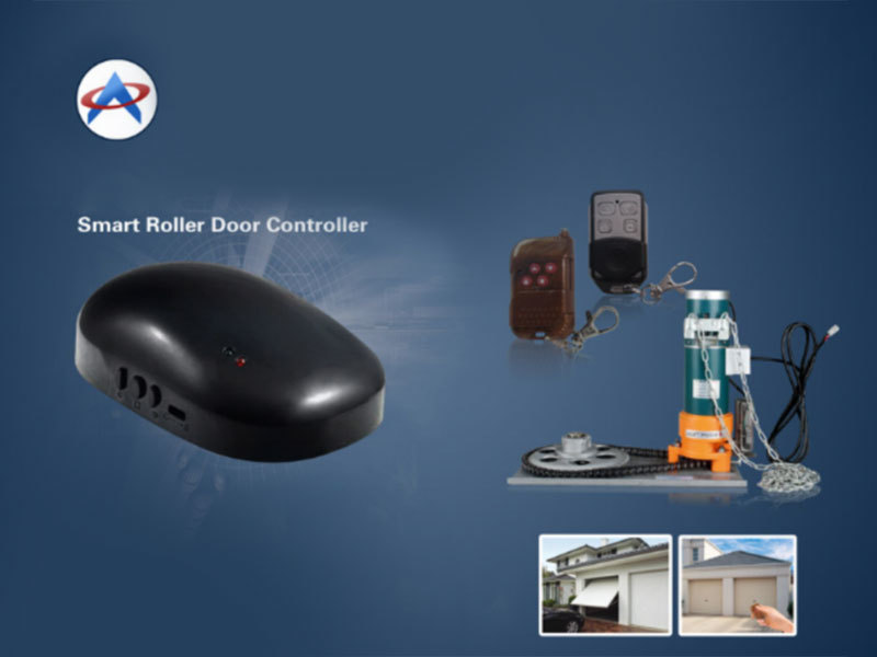 Wireless solutions of shutter door switch