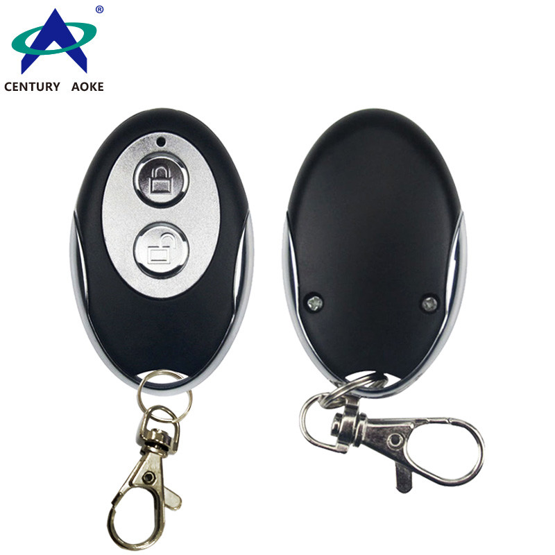Switch lock metal 2 key copy remote control 315 / 433MHz frequency pair copy learning remote control AK-J003