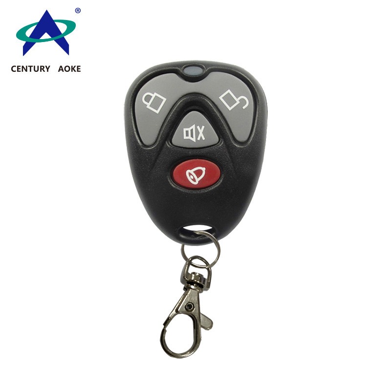 Plastic new Buick four key fixed code learning code copy remote control 433M wireless RF alarm remote control