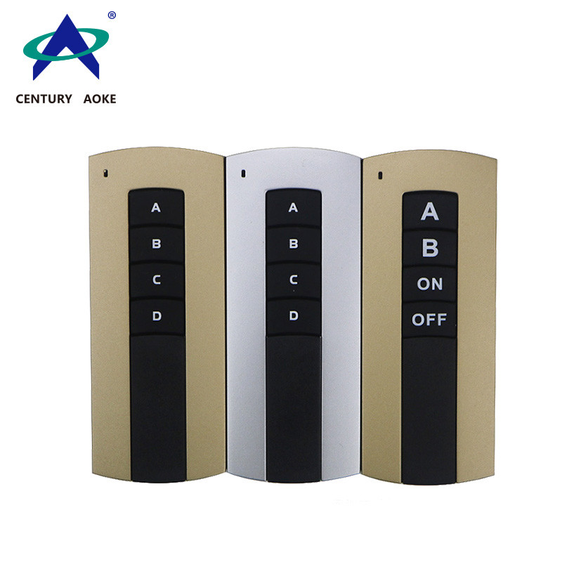 4-key wall mounted remote control with base