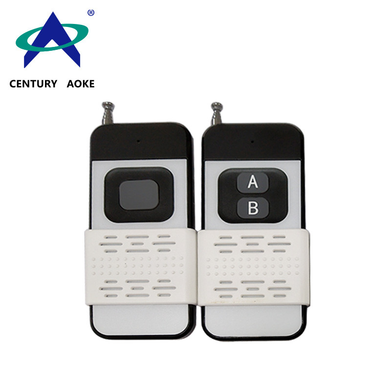 Description of the new style mid-power wireless remote control AK7002