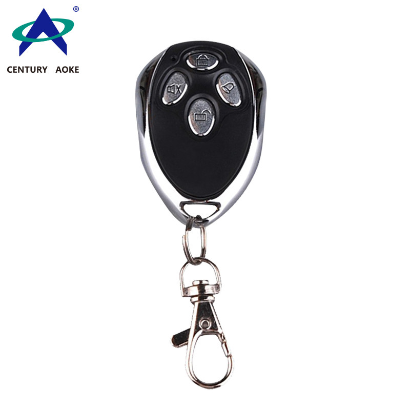 Black Metal Buick four button RF wireless remote control for electric bicycle, car, motorcycle alarm