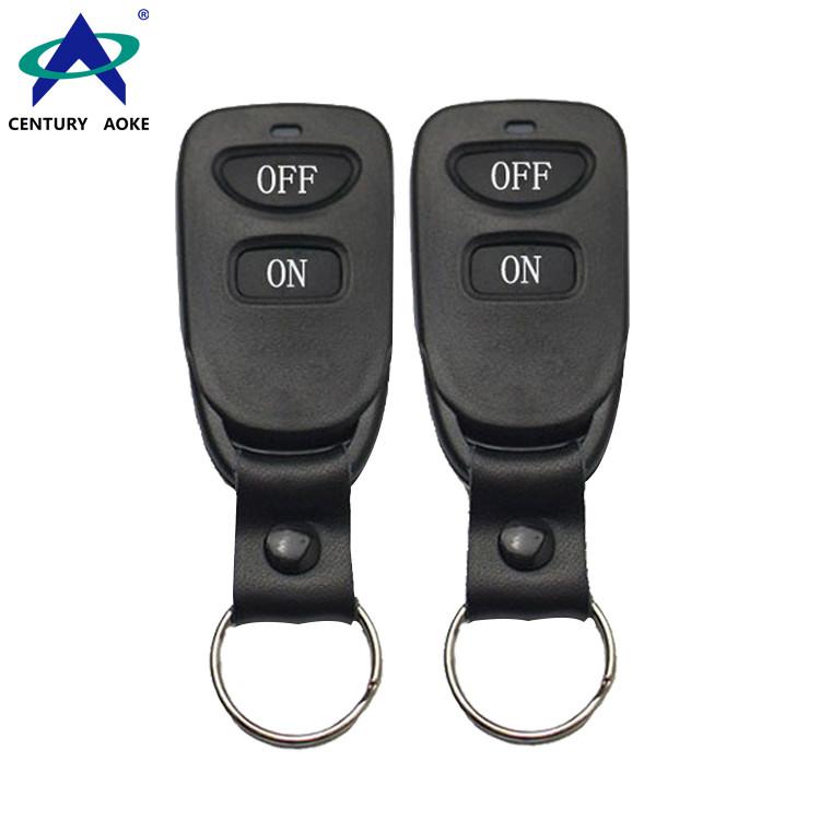 315/433MHz DC6V 2 Buttons Motor Electric Gate Remote Control AK-TF03