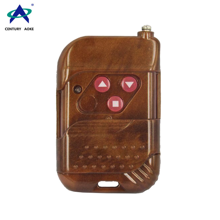 315/433MHz 3 Buttons Motor Electric Gate Remote Control AK-TF03