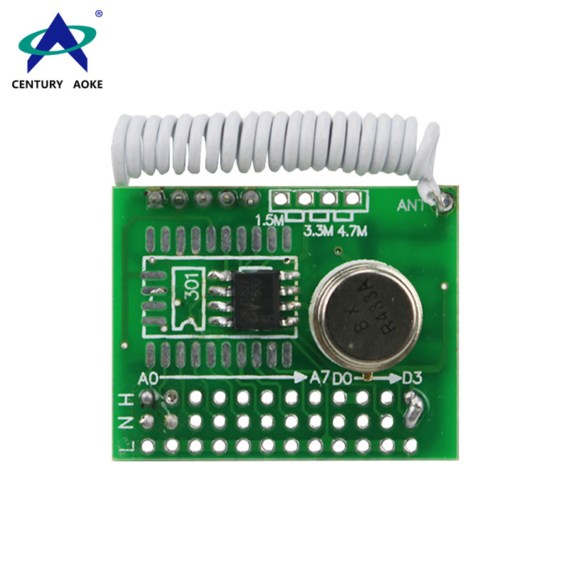 DC3-12V Wireless Modules With Coding Transmitter