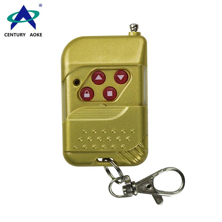 315/433MHz 4 Button Motor Electric Gate Remote Control AK-TF04