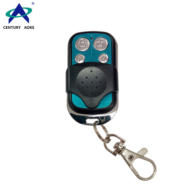 315/433MHz 4 Buttons Universal Motor Electric Gate Waterproof Metal Remote Control