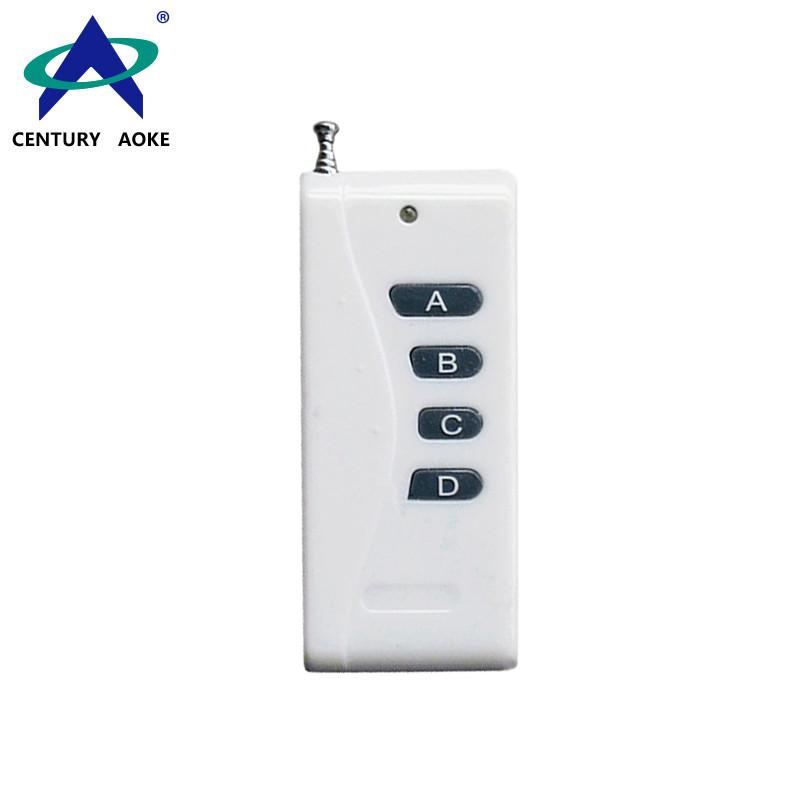 DC12V 1000m 4 Buttons Universal RF Wireless Remote Control AK-1000-4A