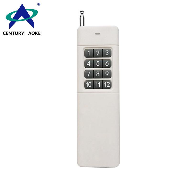 DC9V 2000m 12 Buttons Universal RF Wireless Remote Control AK-3000-12A