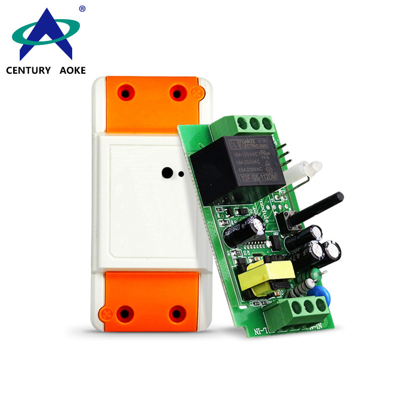 AC 85V~250V 1 Channel 5A 800W Wide Voltage Universal Home Appliances Access Security Wireless Remote Controller Switch AK-KT-01A/02A/03A/04A