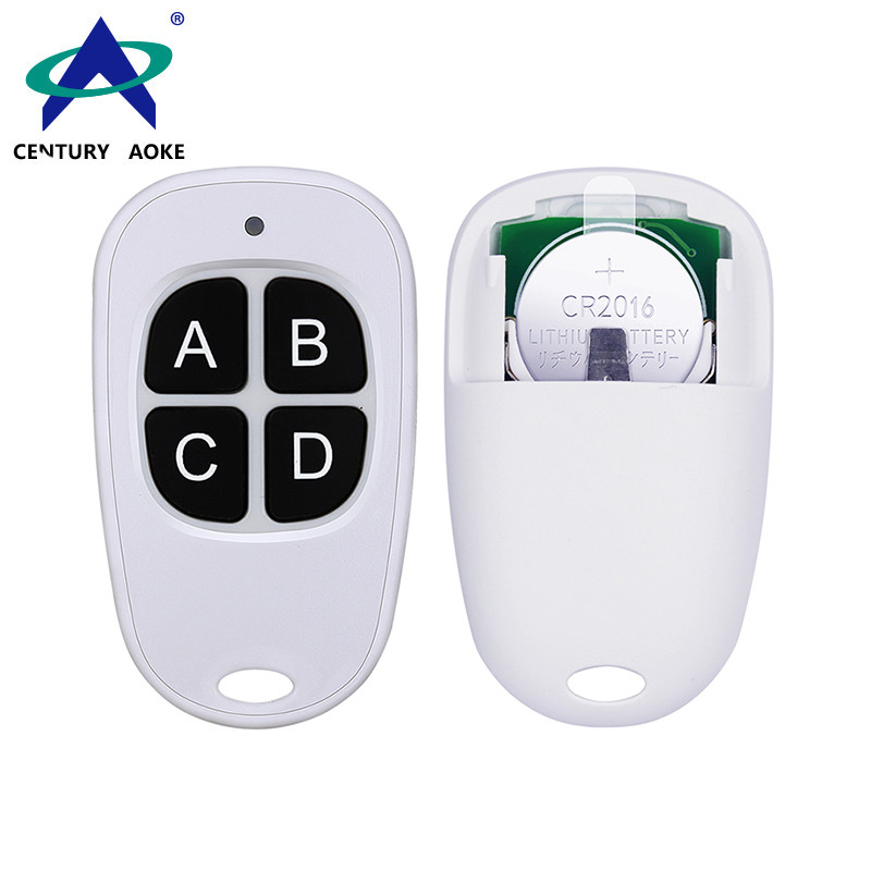 6V 4 Buttons 315/433MHz Replaceable Battery Duplicator Copy Code Universal RF Wireless Remote Control Garage Electric Door Lock AK-079A-KB