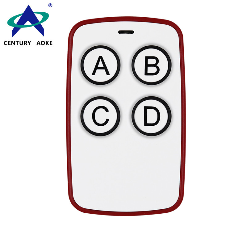 DC 6V 4 Buttons Universal Access Control Electric Door Garage Door Lighting Smart Home Copy Wireless Remote Control AK-K210605