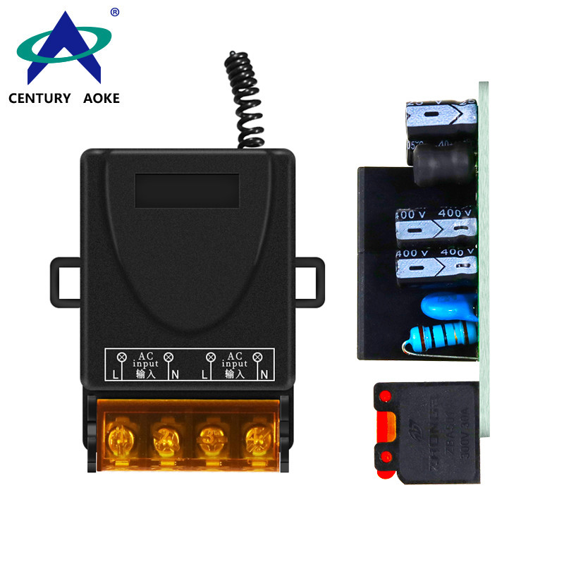 AC 220V 1 Channel High Power Low Consumption Universal Industrial Lifter Control Wireless Remote Controller Switch AK-YLAC02A