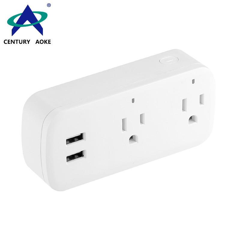 US Smart Socket 110V~240V APP Control Best Smart Outlet AK-P22W-01F