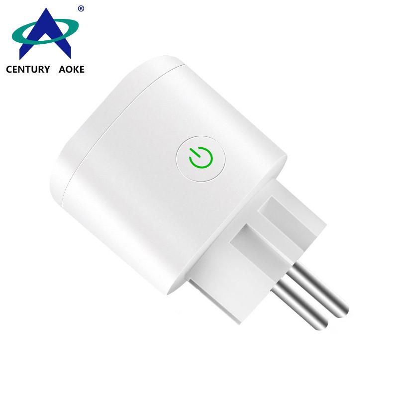 EU Smart Socket Light Socket 110V~240V 10A WIFI 2.4GHz EU Google Home IFTTT APP Timing Control (Android&IOS) AK-P11W-07F