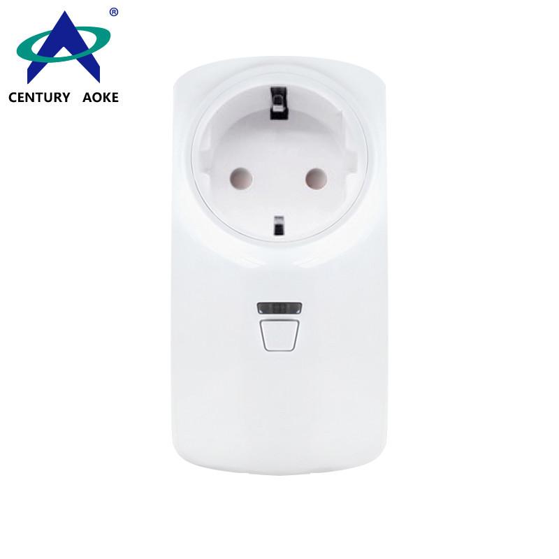 EU Smart Socket 110V~240V 10A APP Control (Android&IOS) WIFI 2.4GHz Amazon Echo Google Home IFTTT Residential AK-P11W-02F