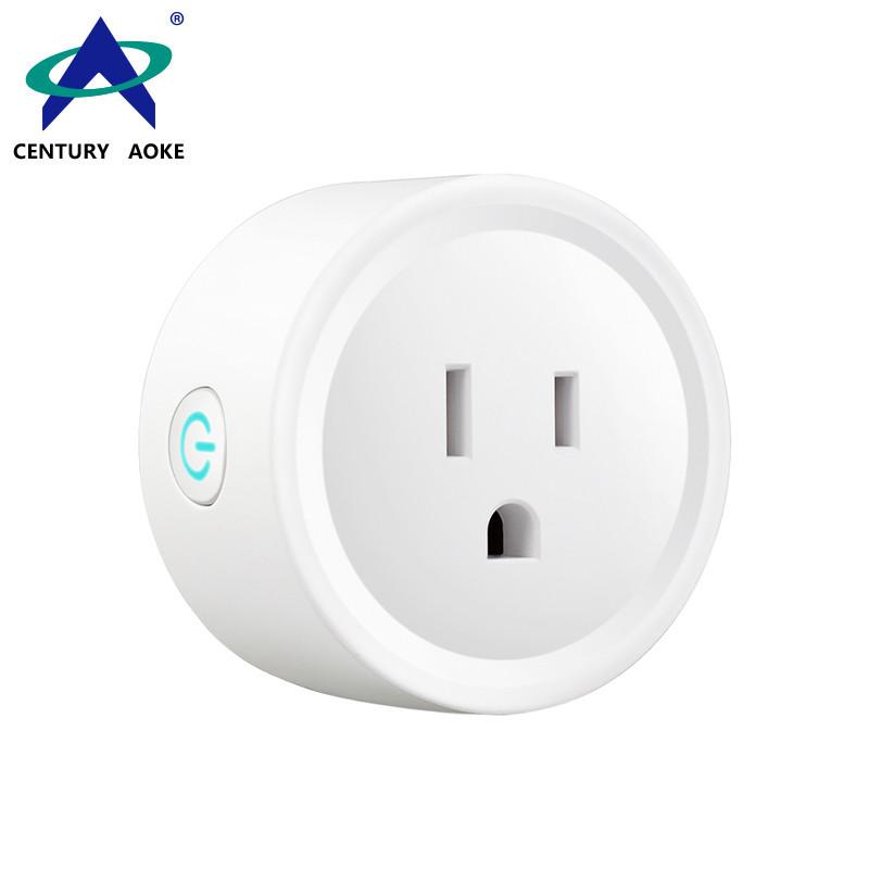 US Smart Socket 110V~240V 10A Amazon Echo Google Home IFTTT Voice APP Control (Android&IOS) WIFI Residential Wireless Plug Socket AK-P21W-06F