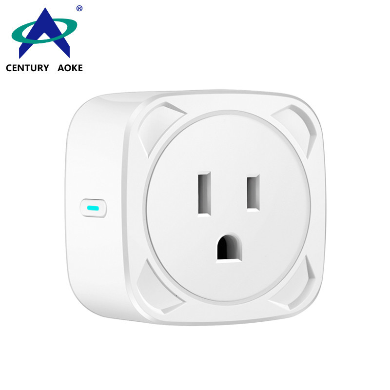 US Smart Socket 110V~240V 10A APP Control (Android&IOS) WIFI 2.4GHz Amazon Echo Google Home IFTTT Residential Enabled Power Switch AK-P21W-08F