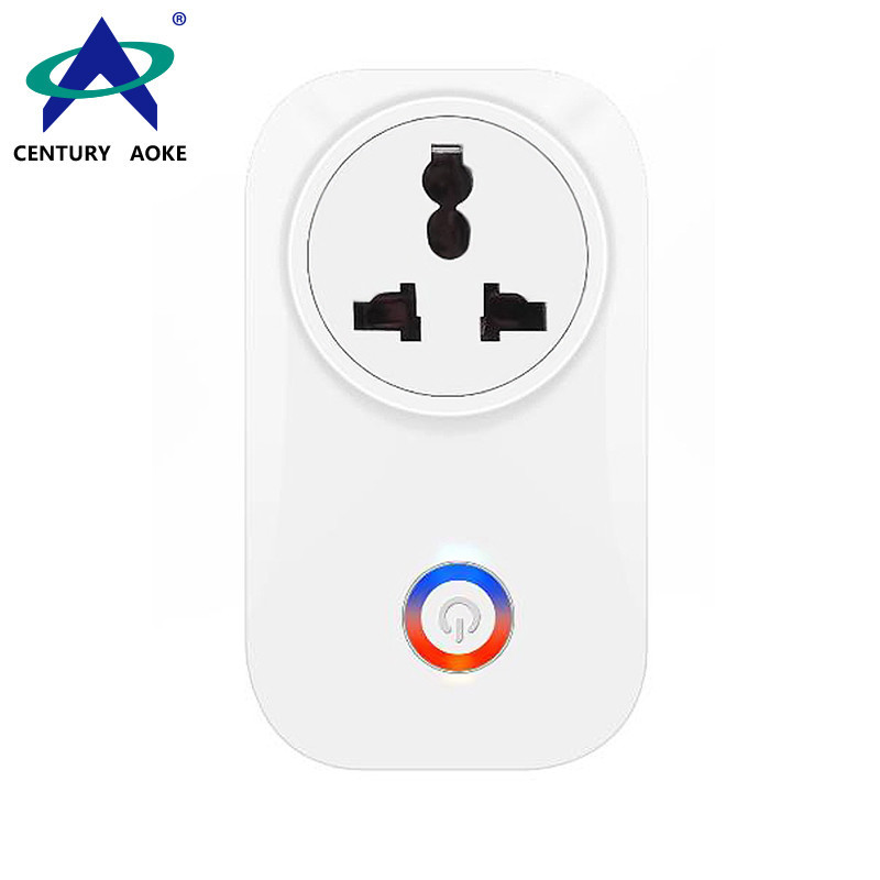 Indian Smart 110V~240V 10A APP Control (Android&IOS) WIFI 2.4GHz Amazon Echo Google Home IFTTT Residential Remote Control Socket AK-P61W-04F