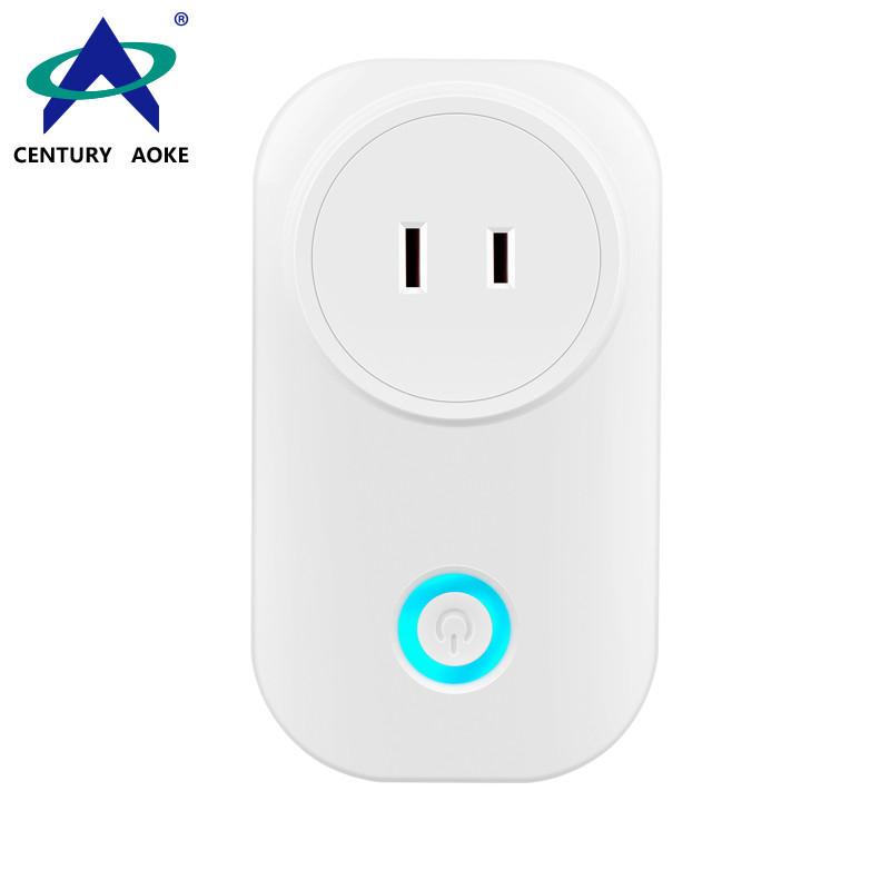JIS Smart Socket 110V~240V 10A APP Control (Android&IOS) WIFI 2.4GHz Amazon Echo Google Home IFTTT Residential Socket AK-P41W-03F