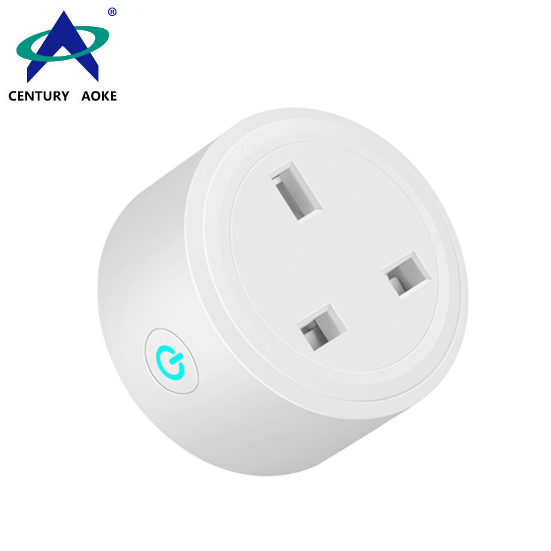 UK smart Socket 110V~240V 10A APP Control (Android&IOS) WIFI 2.4GHz Amazon Echo Google Home IFTTT Residential AK-P31W-07F