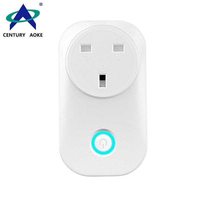 UK Smart 110V~240V 10A APP Control (Android&IOS) WIFI 2.4GHz Amazon Echo Google Home IFTTT Residential Power Docket AK-P31W-03F
