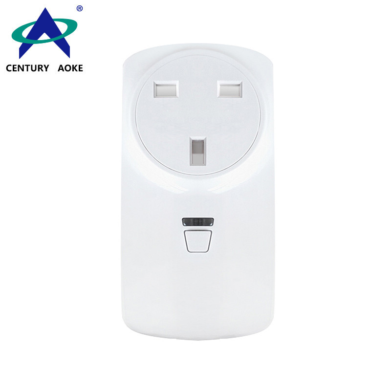 UK Smart Socket 110V~240V 10A WIFI 2.4GHz APP Control (Android&IOS) Amazon Echo Google Home IFTTT Residential Best Electrical Sockets AK-P31W-02F