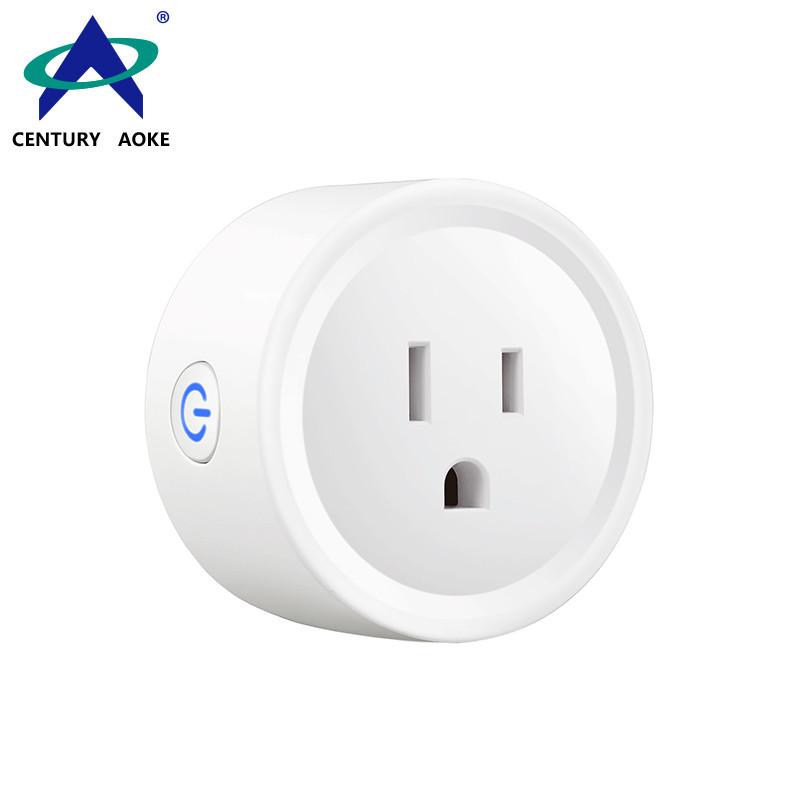 AC 100-240V Remote Control Manual Switch Residential Socket US RF Smart Socket AK-C200410