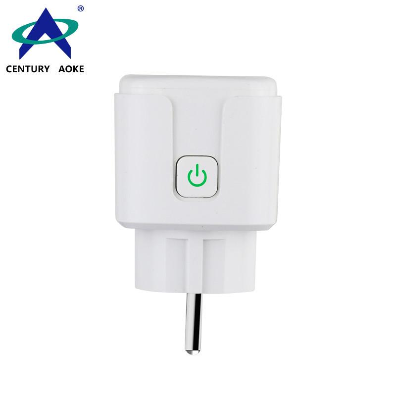 AC 100V-240V Residential General-purpose Application EU RF Manual Smart Square Socket Plug AK-C200409