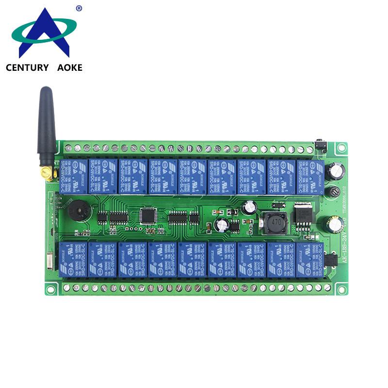 DC12V-24V 18 Channels Learning type wide voltage AK-18S-24 V1.0