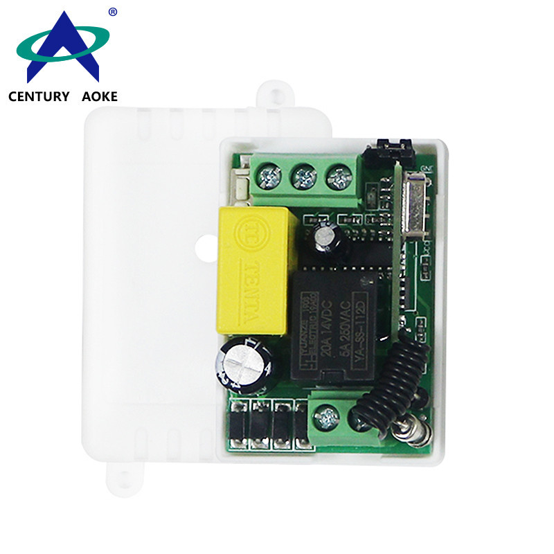 AC85-220V 1 Channel 1000W High Sensitivity Mini Universal Electric Doors Windows Lifting Remote Control Switches AK-AC220-1X-MZ
