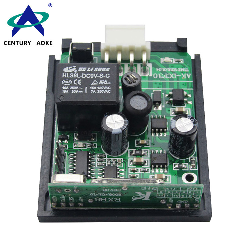 Century Aoke DC12V~24V 1 Channel 315/433MHz Wide Voltage Universal RF Remote Controller Switch Wireless Relay Receiver Module