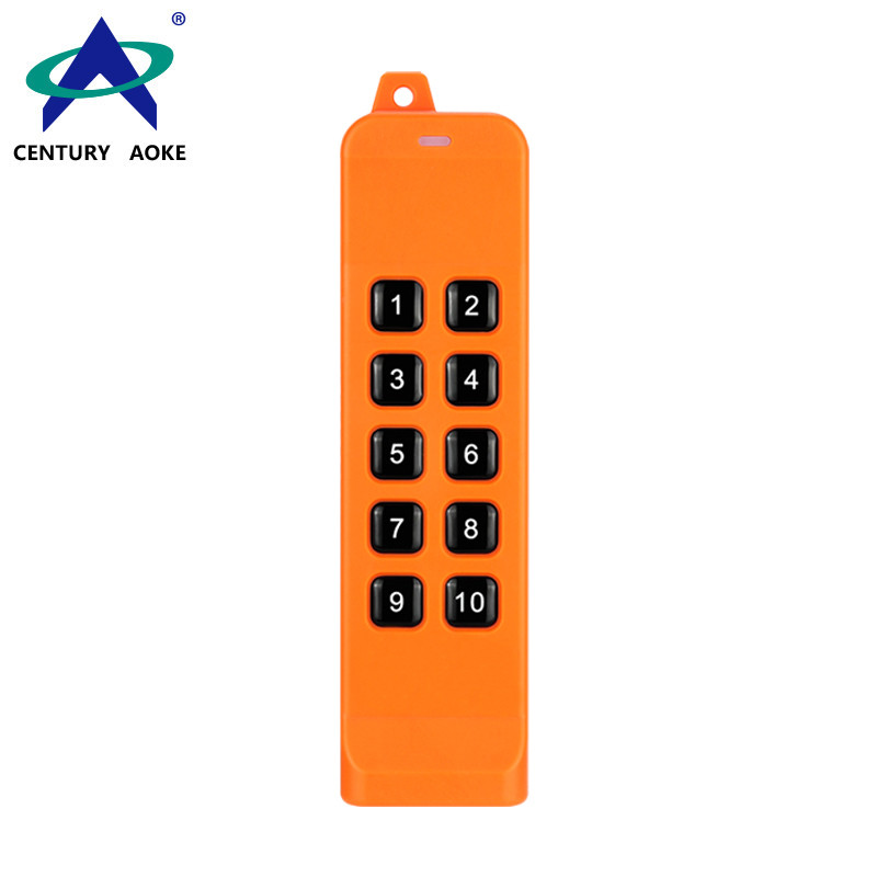 10 Buttons 868 MHz Universal Anti-interference High Power Industrial FSK Remote Control AK-K210505-10