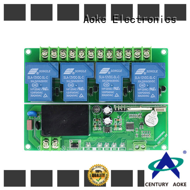 Aoke remote controller series used in electric control locks
