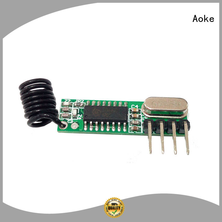 Aoke factory price arduino wireless transmitter supply usedfor smart home security