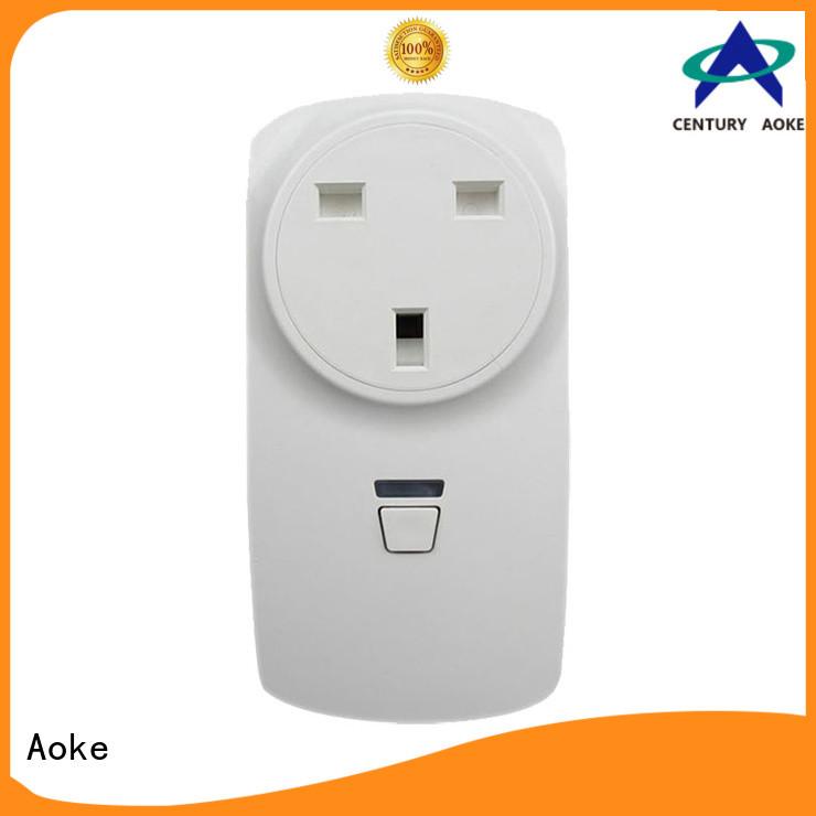 Aoke long lasting wifi smart socket supplier used in electric windows and doors