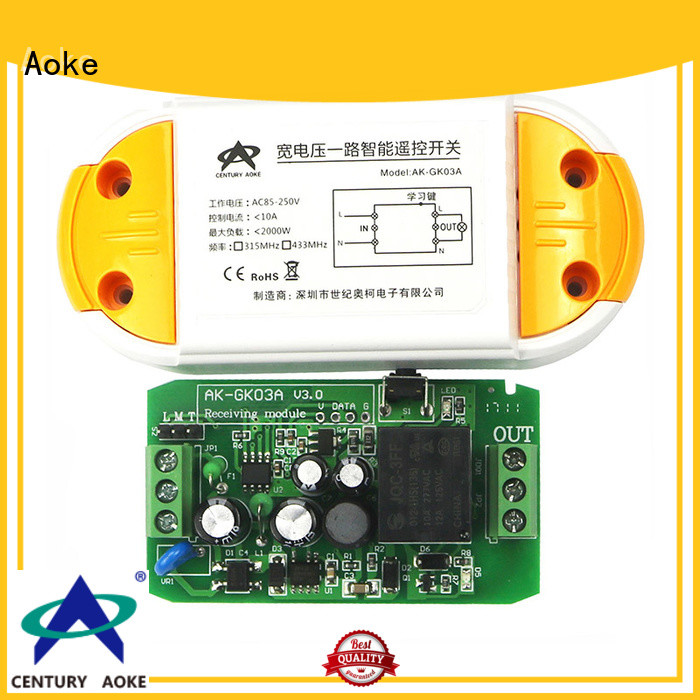 Aoke practical universal controller remote factory direct supply usedfor smart home security