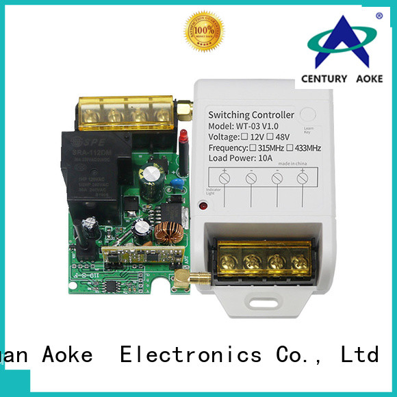 Aoke stable power remote control factory direct supply used in electric control locks