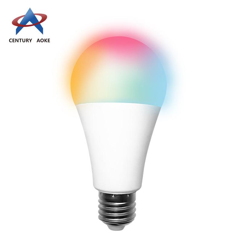 Smart RGB+CW bulb wireless light bulb AK-L05W-01F