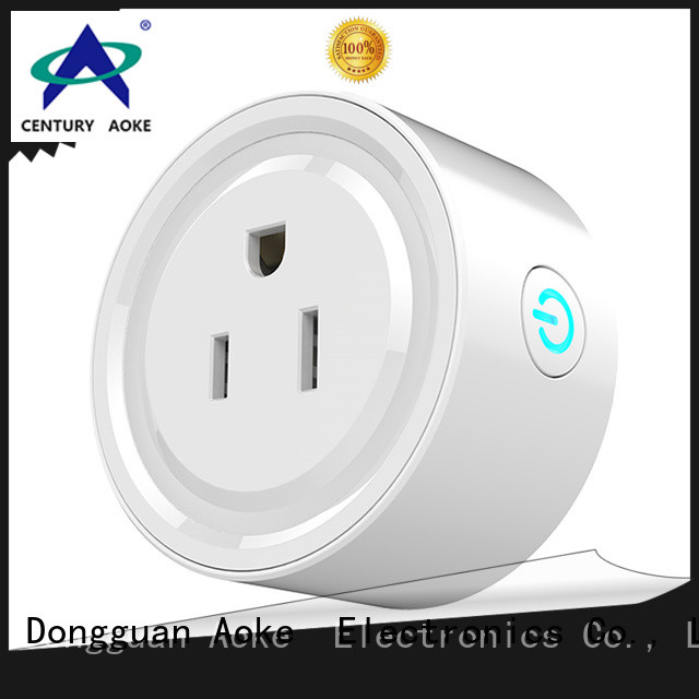 Aoke wifi controlled outlet supplier used in LED lamps