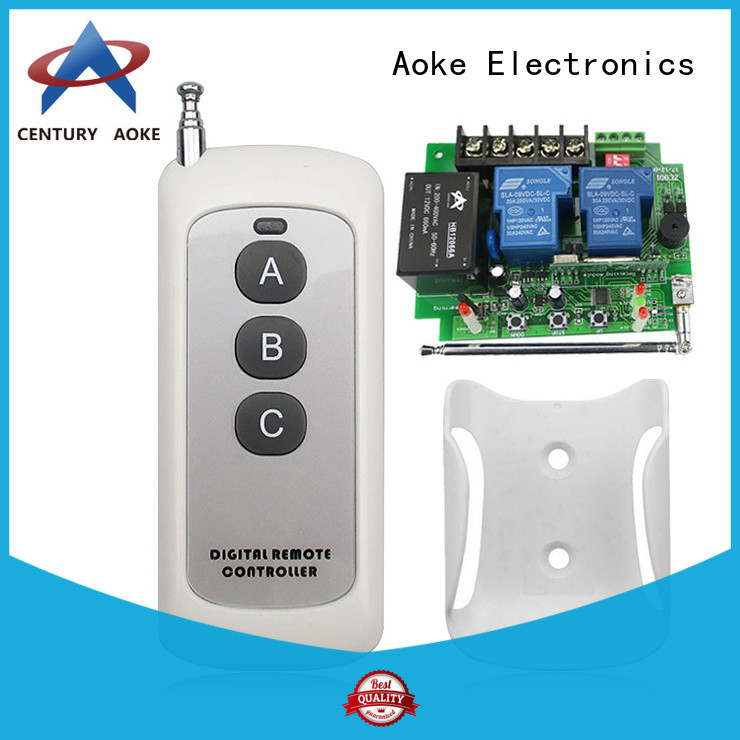 Aoke 110v remote control switch best supplier for home use