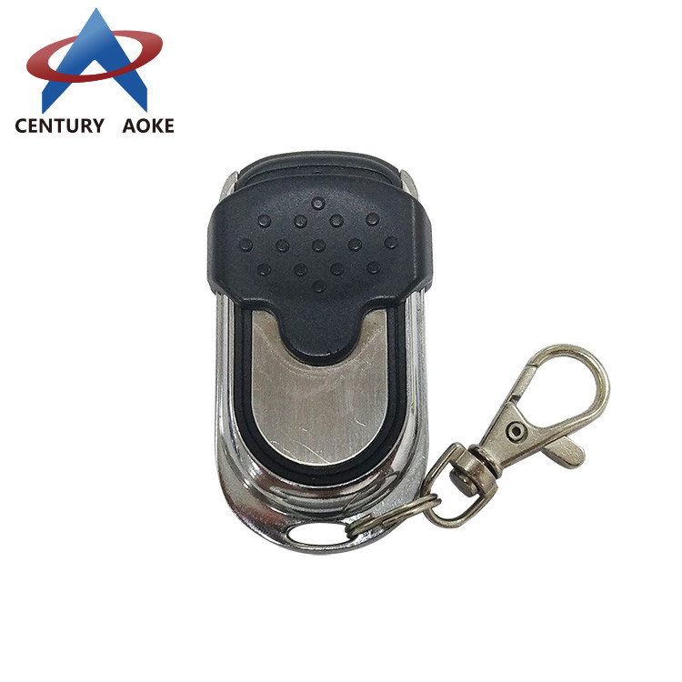Enhanced metal push cover copy wireless remote control AK-078A